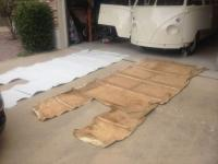 Headliner replacement '66 Lotus White Deluxe
