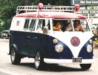 Sundial camper 70's theme