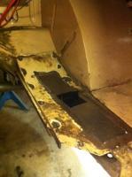 Sheet metal repair/Mock up deep 6 with 205