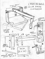 Cheeseball VW valvespring compressor