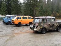 tripple cab splitty crashes syncro meet