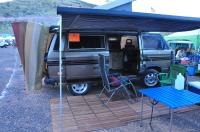 Westy campsite at the Jerome Jamboree 2011