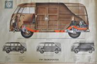 VW Transporter Poster