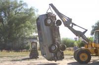RMW bumper testing
