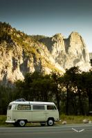 Our 70 Westy in Yosemite