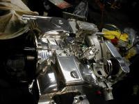polished engine