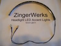 Installing Headlight LED Accent Lights