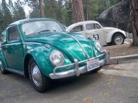 Hometown Herbie and Buddy das Wundercar at Lake Tahoe.