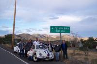 Hometown & Bonneville Herbie with LoveBugFans.com members.