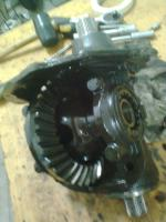 Changing seals in a 003 automatic transmission
