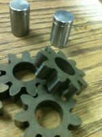 cut down oil pump gears