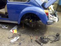 VW 1973 VW Beetle restoration - Project A