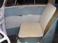 66 bus seat refurb