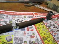 cut shift rod