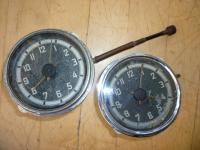 Mid '53 Barndoor Deluxe Clock Differences
