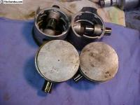 Very rare EMPI 36hp oversized pistons and cylinders