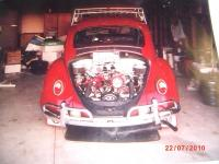 STOLEN 1965 RED BEETLE