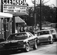 Type 3, Clemson Theater, Old Photo, Vintage, Street Scene, Variant