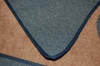 New Blue square weave