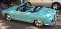 1963 Pacific blue Karmann Ghia