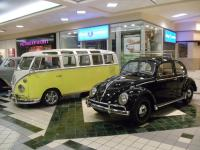 Car show at the Mall