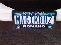 New Plates for the Bus