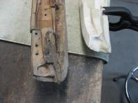 Wooden header