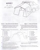 Komet Tent Instructions