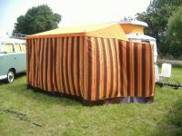Westy caravan trailer tent, very similar to so23-so34 Westfalia tents
