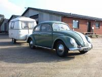 my 1953 oval with caravan