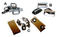 Single or Double Cab Tilt Hardware, Canopy, Canvas, Splitwindow