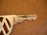 Door handle set screw