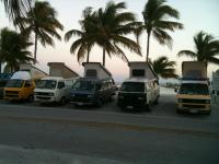 Vans in Key West