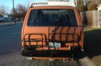 Custom rear bumper w swingouts