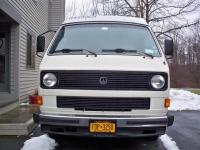 Our '84 Vanagon's new front spoiler