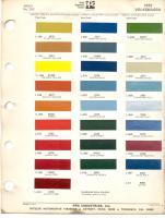 1972 VW colors