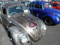 Beetle with hood art