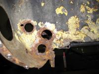 Heater channel repair