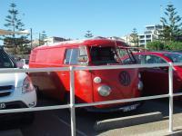 Vintage Bus at Bondi Beach Australia