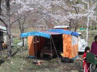 Camping in Japan