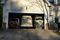 3 buses in a 2 car garage