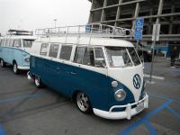 Blue Standard Microbus