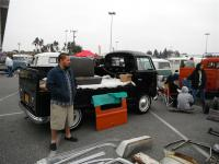 Black Single Cab and swap meet