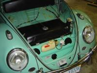 1962 Trunk with Fuel Filler Vent Hose circled