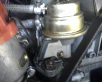 Cracked fuel pump