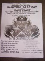 German Invasion Shelby NC. Shadyside Dragway. 4/21/12