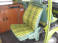 "Vanagon jump seat in a 77"" Westy"