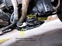 Rear Shift linkage