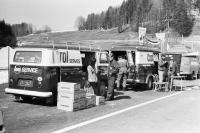 castrol service bus @ salzburgring austria 1970