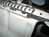 seat track slider buffer